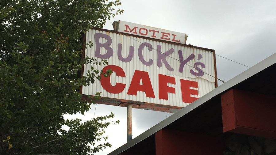Bucky's Cafe in Cambridge, Idaho
