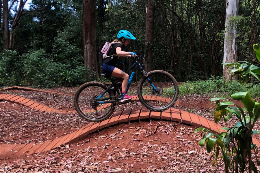 Maui mtb fun with kids