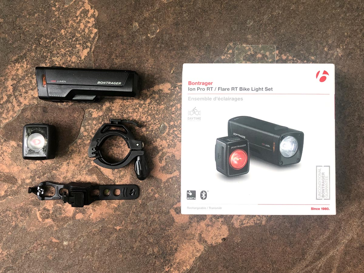 Bontrager Ion Lights with packaging