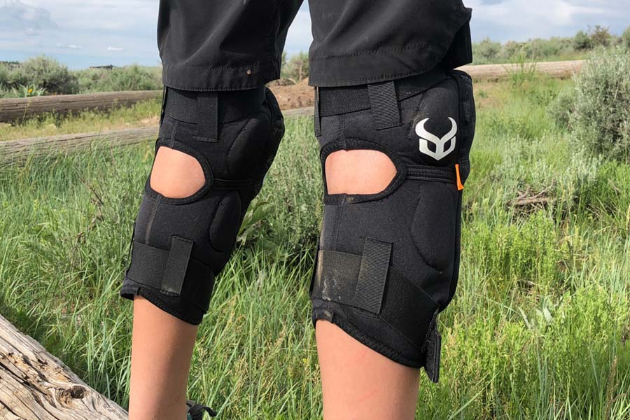 Comfortable mtb knee pads for kids