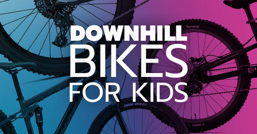 Downhill mountain bikes for kids