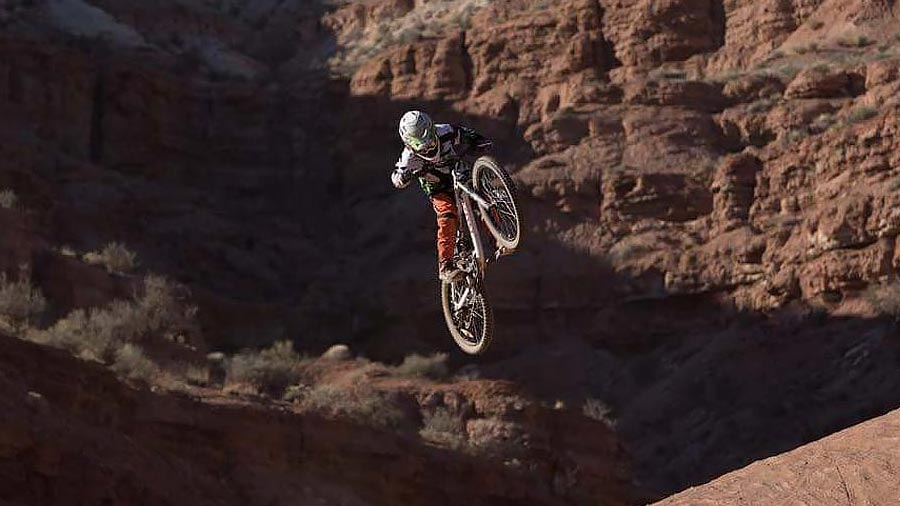 Red Bull Rampage with kids