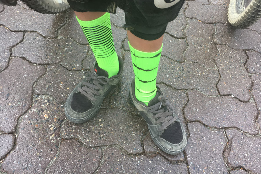 Five Ten Freerider Kids shoe review, mountain bike