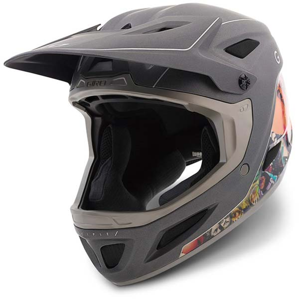 Giro Disciple full face helmet - manufacturer photo - three quarter view