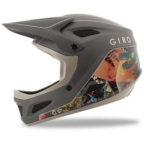 Giro Disciple full face helmet - manufacturer photo - side view