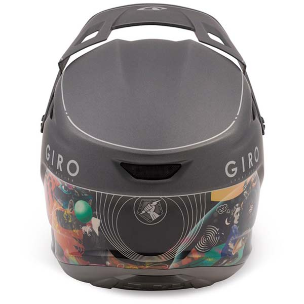 Giro Disciple full face helmet - manufacturer photo - rear view