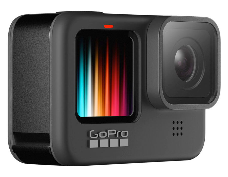 The GoPro Hero 9 is a great gift for mountain bikers no matter what time of year it is