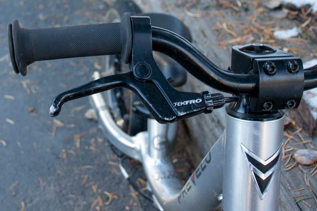 Hand brake detail - Prevelo Alpha Zero