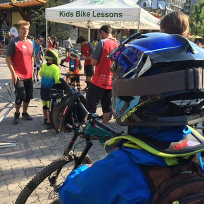 Kids Mountain Bike Park Lessons