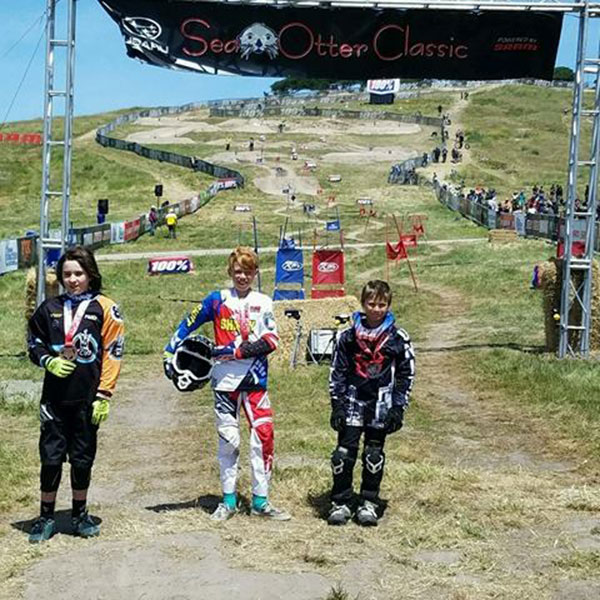 Medal winners at the Sea Otter Classic
