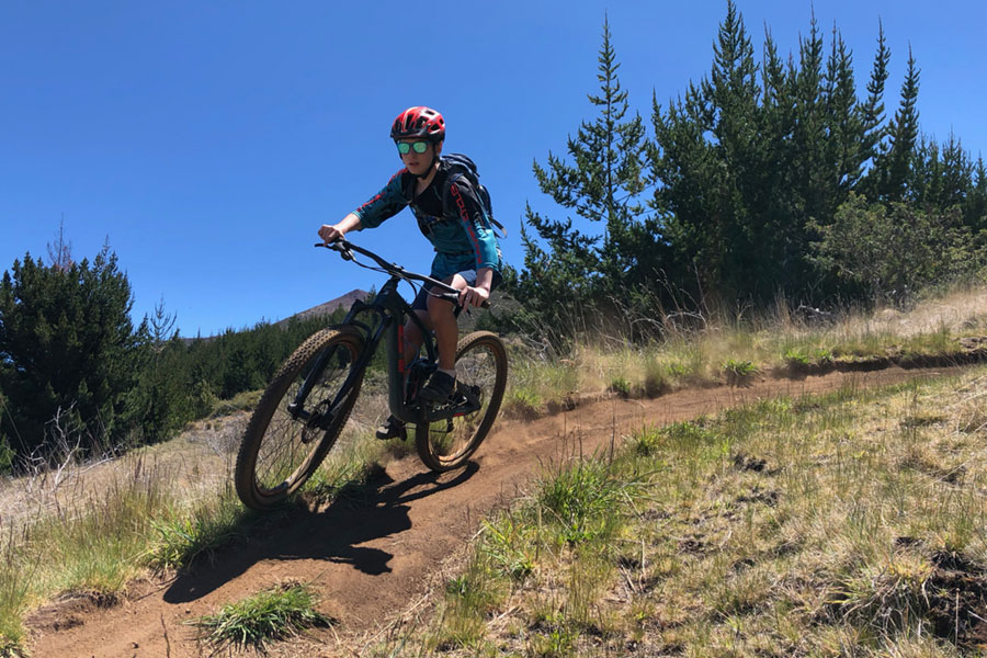Mountain biking in Maui