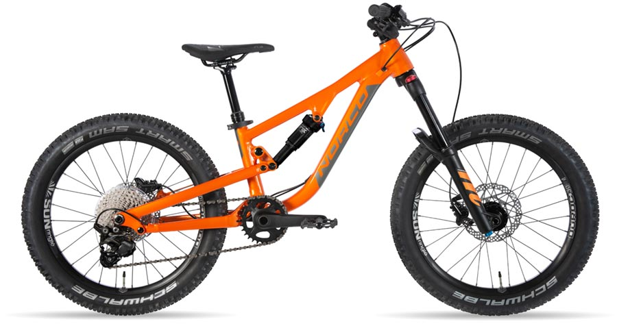 Norco Fluid 2.1 FS kids mountain bike
