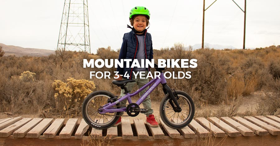 The best bikes for 3-4 year old boys and girls