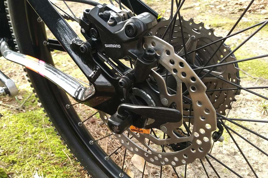 Orbea MX 24 Trail rear brake