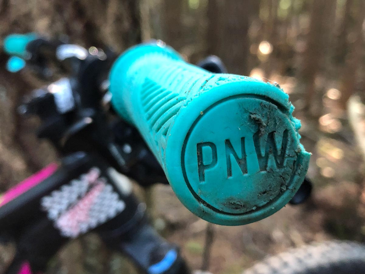 Wear and tear after a season using the PNW Components Loam Grips