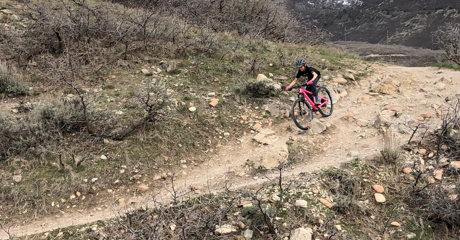 TAIR Ripper rocky descent
