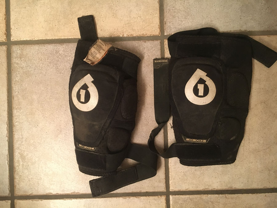 Review of SixSixOne Rage Youth Knee Pads