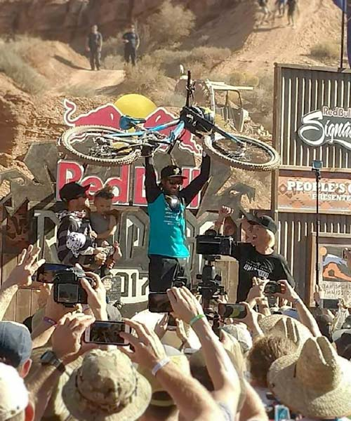 Kurt Sorge wins the 2017 Red Bull Rampage