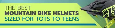 best mountain biking and mtb helmets for kids and teenagers