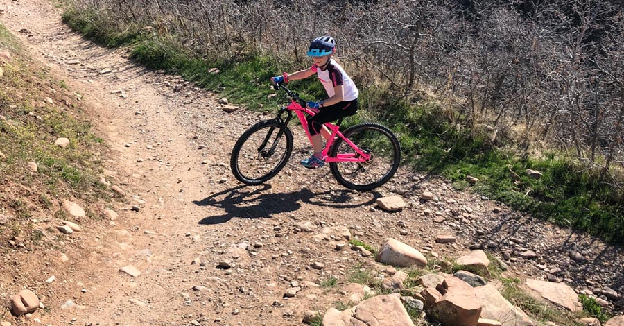 TAIR Ripper takes on a switchback
