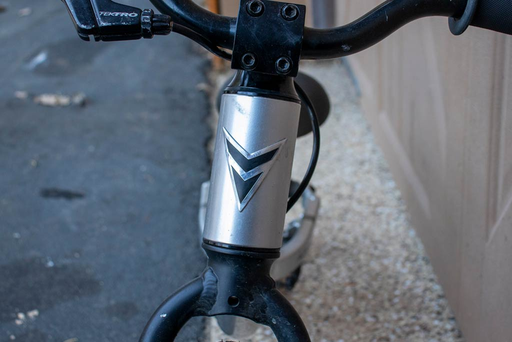 Prevelo Alpha Zero - Top Tube Badge