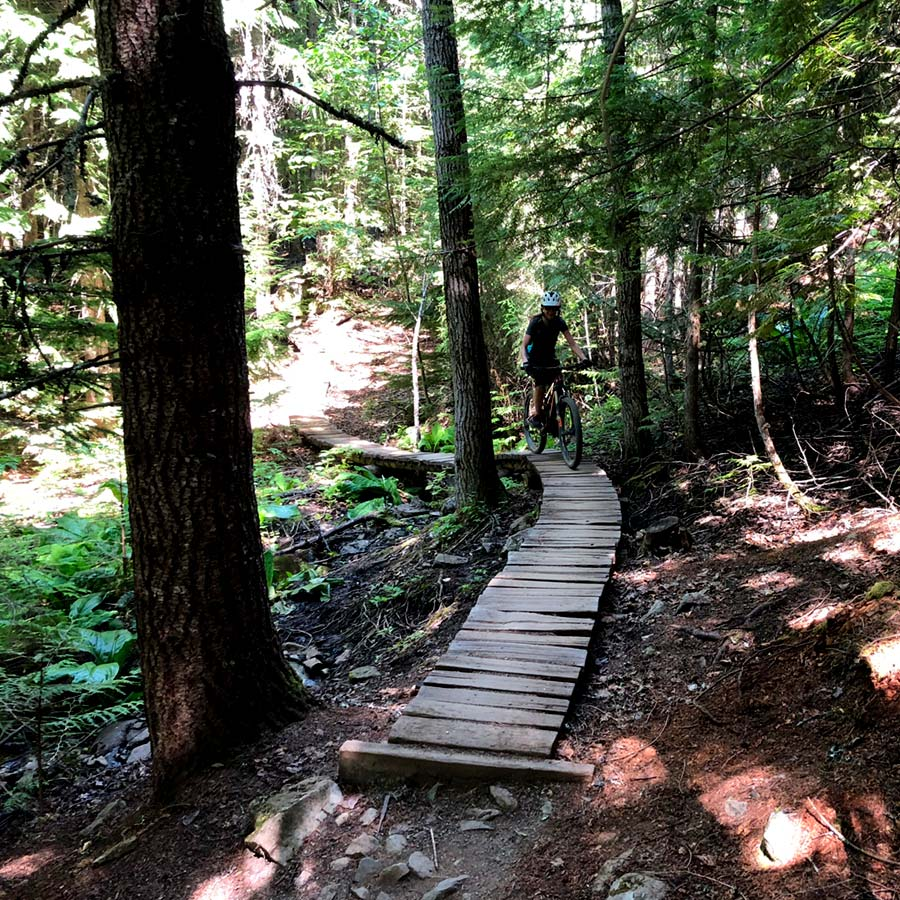 Grand Wazoo - Lost Lake Trail System. Whistler, BC