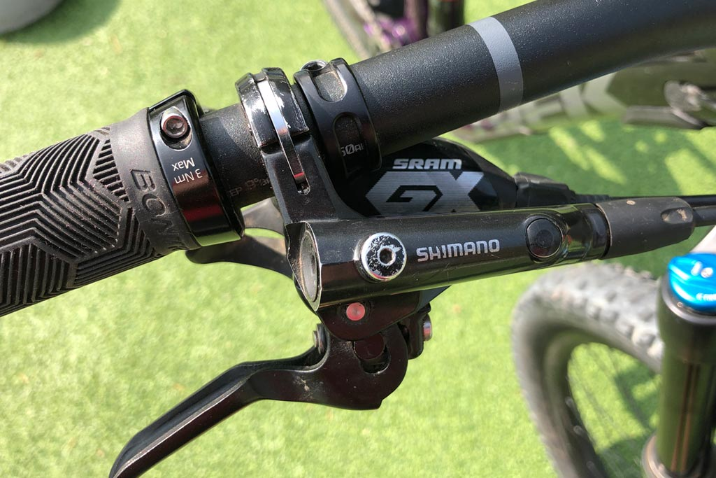 Trek Fuel EX 8 - Shimano brakes and SRAM drivetrain