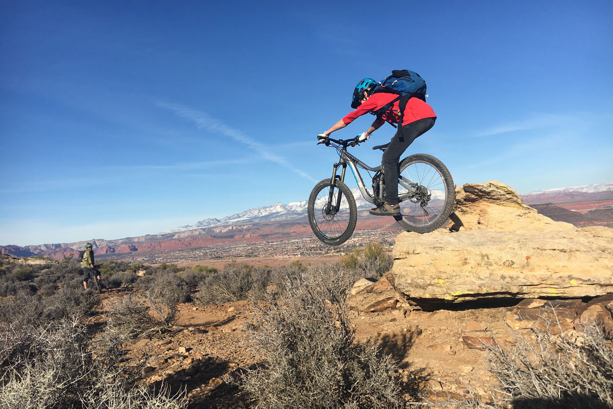 Zen Trail, St George, optional drop