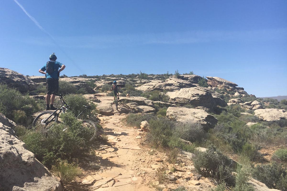 Zen Trail, St George, climb