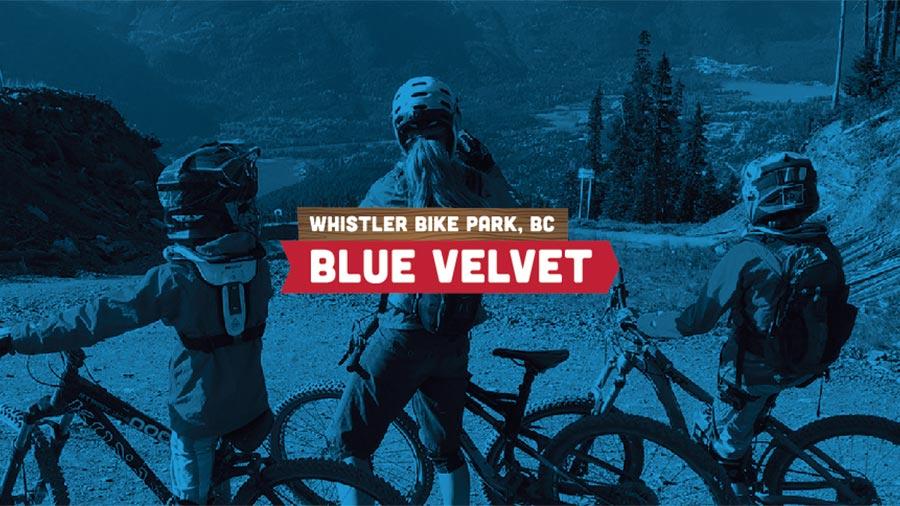 Blue Velvet - Mountain Biking With Kids