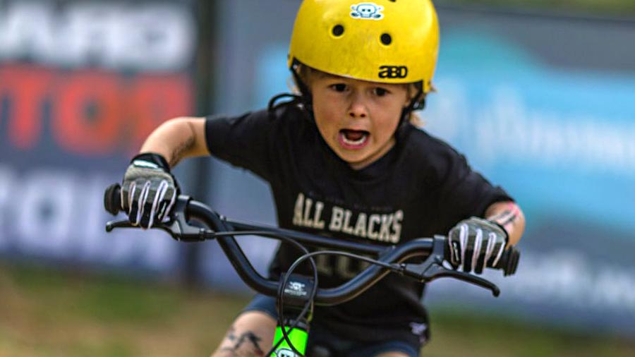 Crankworx Rotorua 2017 and mountain biking with kids