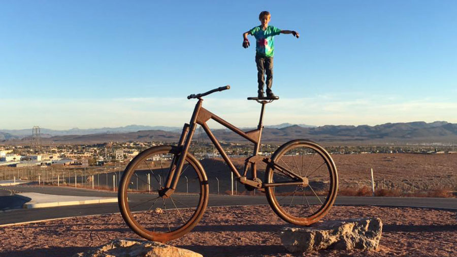 Get your kid a mountain bike that fits