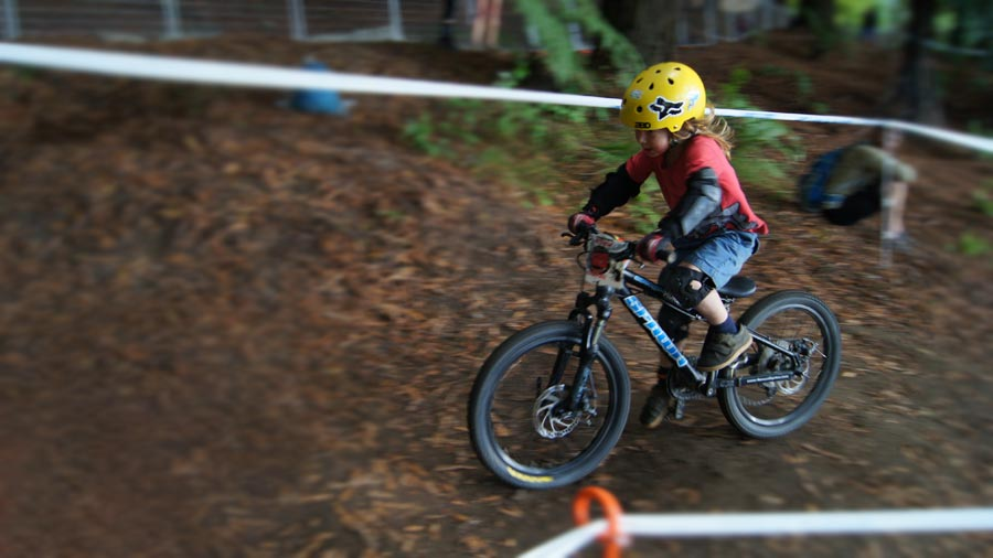 MTB race at Crankworx Rotorua 2017