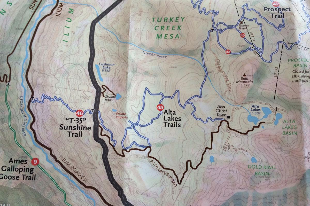 prospect map
