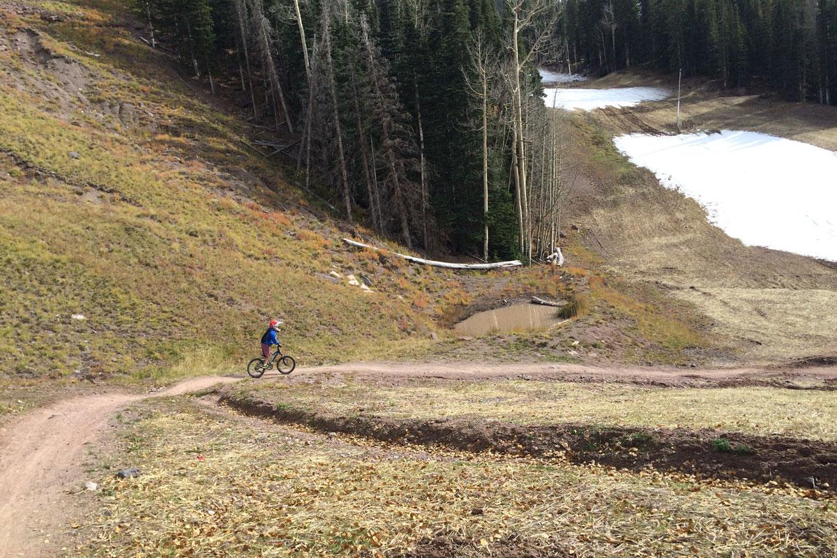 prospect trail ski run
