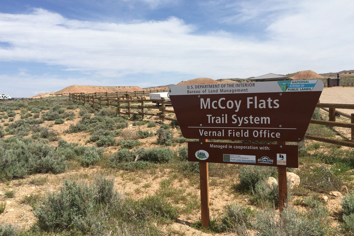 mccoy flats sign