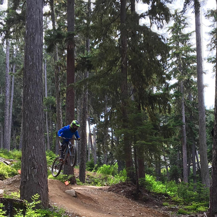 Blue Velvet - Whistler Bike Park