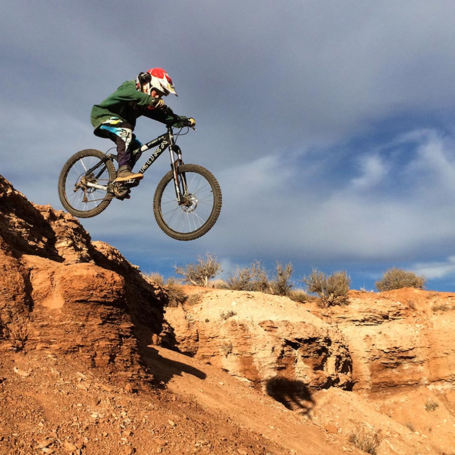 Old Red Bull Rampage Site