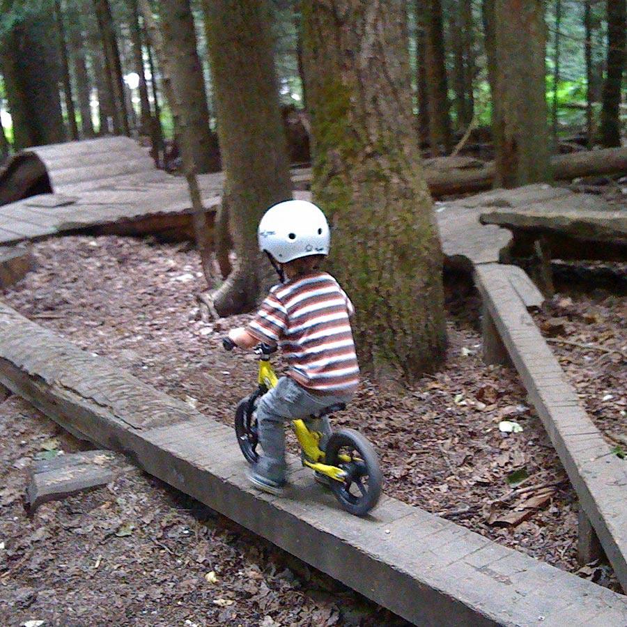 Balance bike skills park