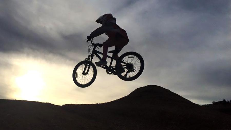 Photo of the week - mountain biking with kids