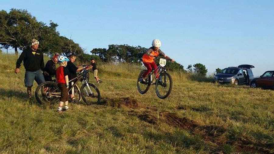 Getting acclimated at the Sea Otter Classic