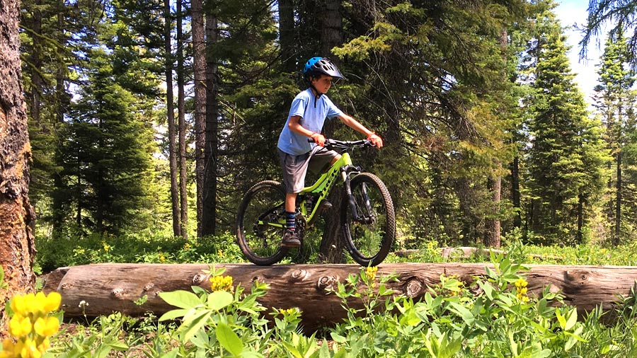 Mountain Biking With Kids visits McCall, Idaho