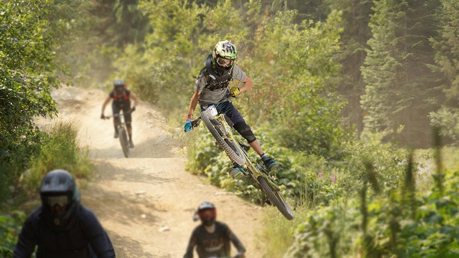 Mountain Biking with Kids experiences Whistler's SGC (Summer Gravity Camps)