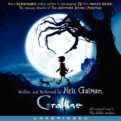 Coraline - audiobook for kids on road trip