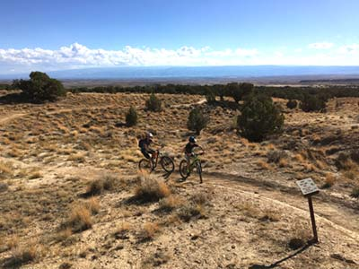 Mountain biking with kids in Fruita, Colorado – 18 Road