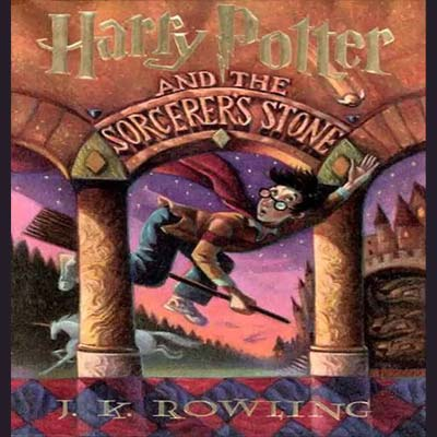 Listen to Harry Potter and the Sorcerer's Stone on your next mountain biking road trip with kids.