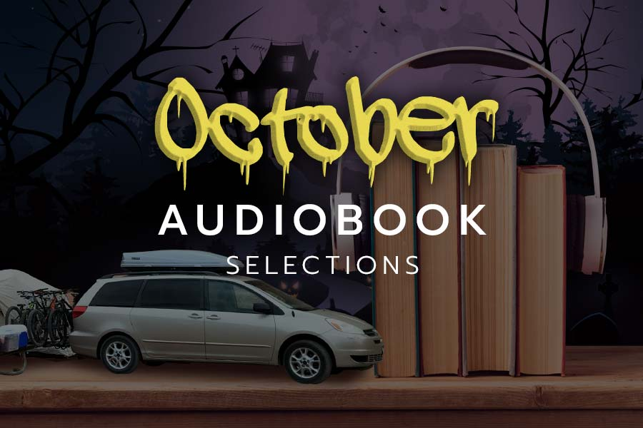 October audiobook suggestions for family mountain biking road trips
