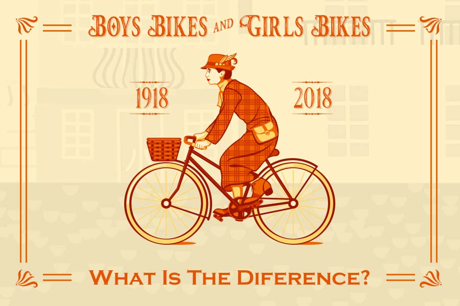 Boys Bikes and Girls Bikes - what is the difference?