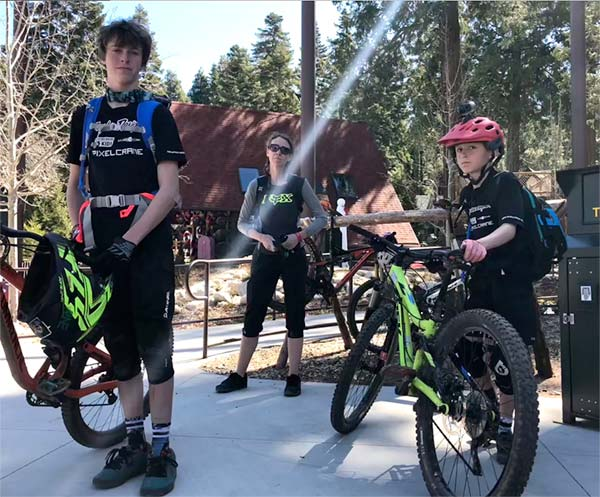 What the kids said about riding the SkyPark At Santa's Village bike park
