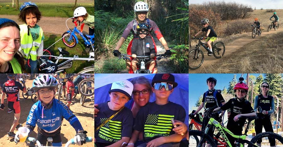 Here's to the mountain biking moms - 2018